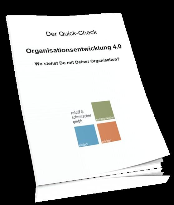 Der Quick-Check: Organisationsentwicklung 4.0